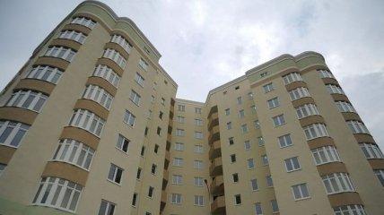 В Украине активно вводится в эксплуатацию жилье в новостроях
