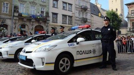 Авто патрульной полиции в Одессе попало в ДТП