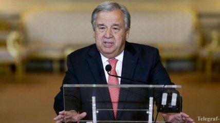 Генсек ООН призвал провести расследование по факту гибели людей в секторе Газа
