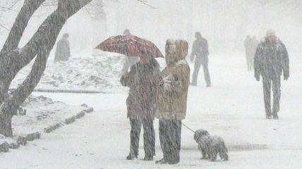 В Украине сегодня снег, метели и гололедица