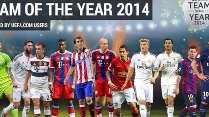 Футбольная сборная 2014 года по версии УЕФА