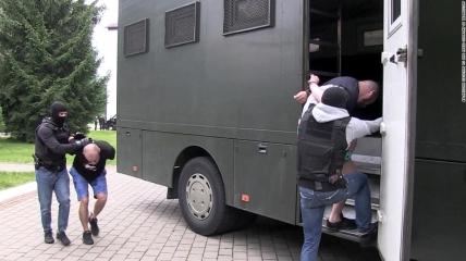 Задержание в Беларуси в 2020