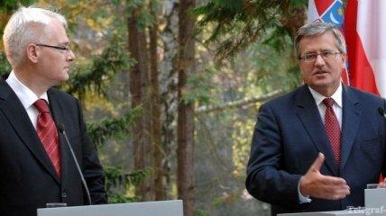 """Президент Польши получил звание """"Человек года"""""""