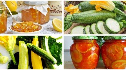Лечо, аджика и варенье: что можно приготовить из кабачков на зиму (фоторецепты)