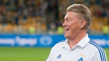 """Изменения в """"Динамо"""" пока не коснулись Олега Блохина"""