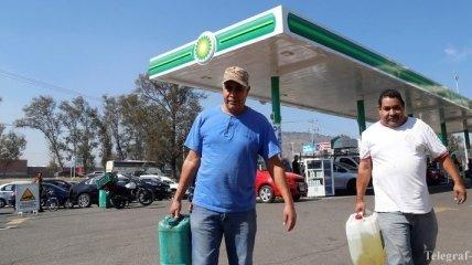 Власти Мексики спровоцировали топливный кризис