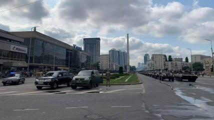В Киеве полным ходом готовятся к военному параду: видео репетиции