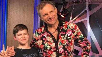 Наступает на пятки: 13-летний сын Олега Скрипки решил покорять отечественный шоу-бизнес