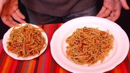 Как выбор посуды влияет на лишний вес