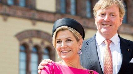 Монарх 21 века: эффектный выход королевы Нидерландов Максимы