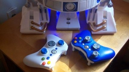 Комбинированная игровая система в корпусе R2-D2