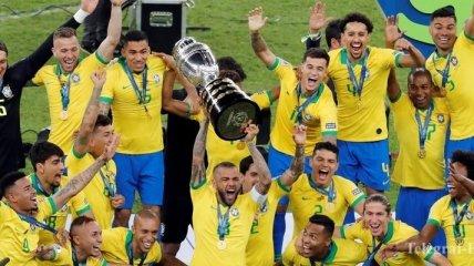 Сборная Бразилии обыграла Перу в финале Кубка Америки-2019