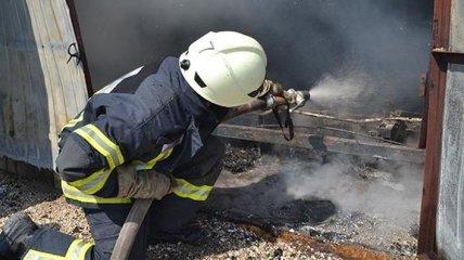 В Одессе горел детский сад