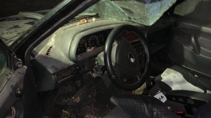На Донбассе разбили автомобиль правозащитницы, прижавшей угольную мафию (фото)