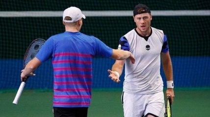 Марченко вышел в полуфинал парного турнира в Германии