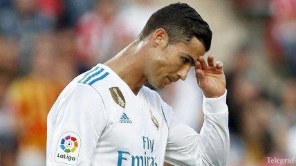 Роналду грозит новая дисквалификация, теперь за удар в лицо соперника