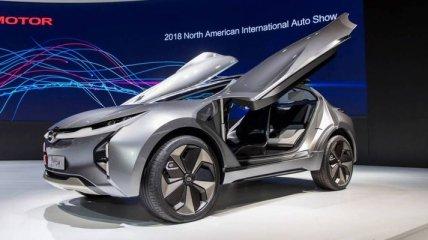 Автосалон в Детройте: представлен футуристический кроссовер GAC Enverge Concept