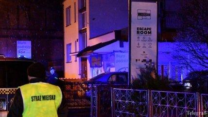 В Польше произошел пожар в квест-комнате, погибли подростки