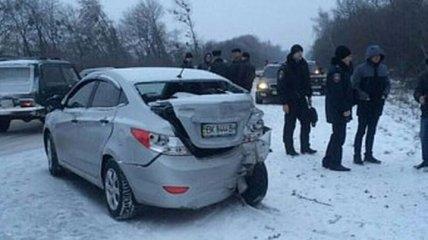 ДТП в Ривненской области: погиб один человек, двое травмированы