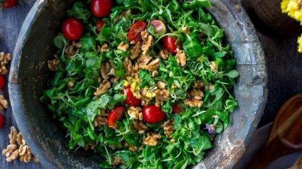 Про користь зелені для організму
