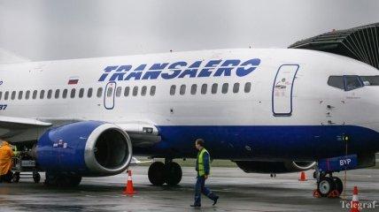 """Российская авиакомпания """"Трансаэро"""" прекращает полеты"""