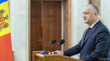 Додон: Политический и конституционный кризис был преодолен