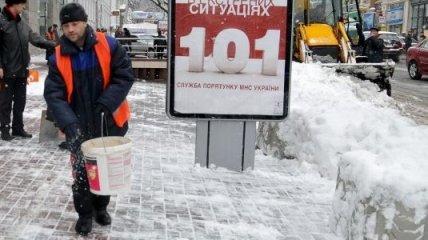 Киев ожидает 10 вагонов соли