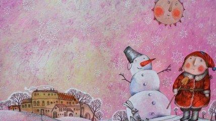 Сказочные рождественские иллюстрации Анны Силивончик (Фото)