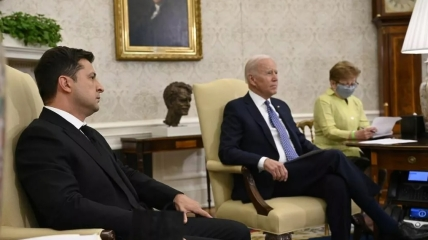 Встреча Владимира Зеленского и Джо Байдена