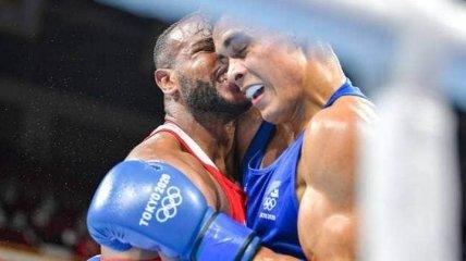 Дело Тайсона живет: на Олимпиаде боксер попытался откусить ухо сопернику (видео)