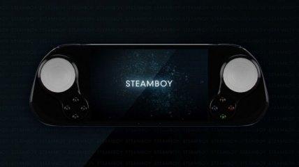 SteamBoy: компактная консоль на базе SteamOS (Видео)