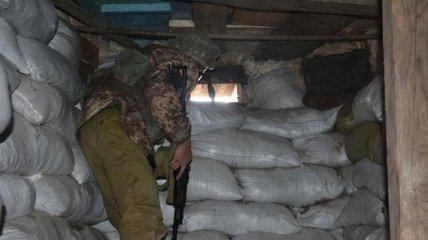С начала суток на Донбассе ранен один украинский военный