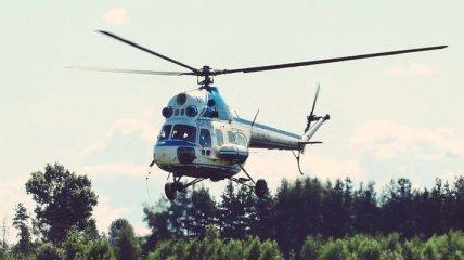 Во Львовской области потерпел крушение вертолет