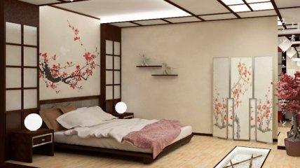 Спальня у японському стилі: варіанти оформлення