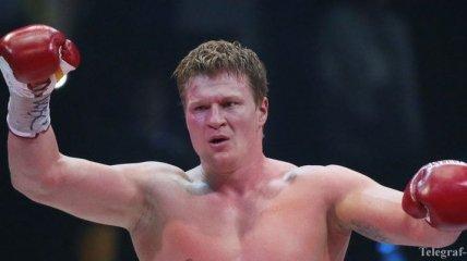 В бою Поветкин - Руденко на кону будет стоять титул WBO International