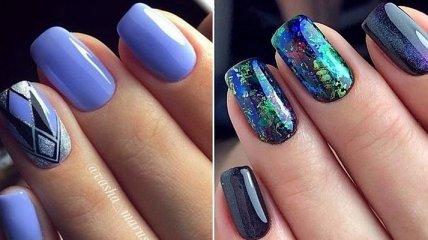 Маникюр 2019: тренды дизайна на ногтях средней длины (Фото)