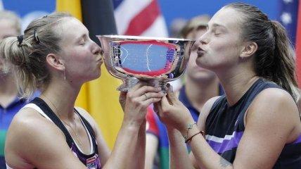 Определились победительницы US Open в парном разряде (Видео)
