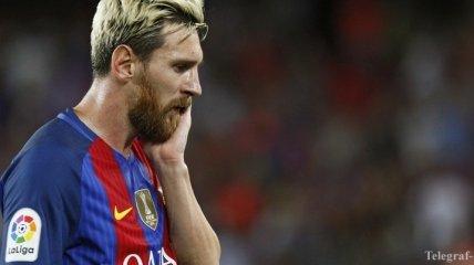 Месси стошнило прямо во время матча чемпионата Испании (Видео)