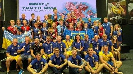 Сборная Украины стала триумфатором чемпионата мира по ММА