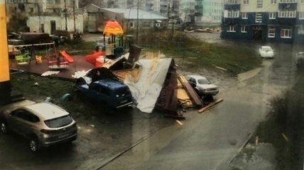 В Александровске-Сахалинском ветер достигал скорости 20 м/с