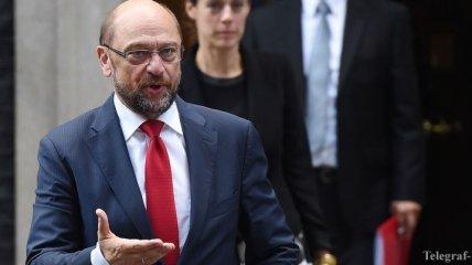 Шульц призвал Британию как можно скорее начать процедуру выхода из ЕС