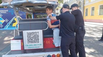 Задержание американца в Одессе
