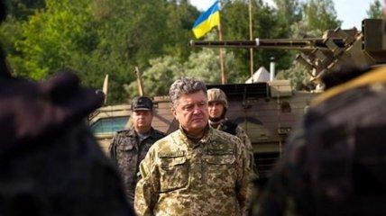 Порошенко анонсировал указ о прекращении огня на Востоке Украины