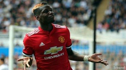 Поль Погба не полетел с Манчестер Юнайтед на сбор в Дубай