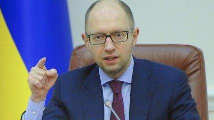 """Яценюк: Контроль """"Украэроруху"""" за полетами в Сирию должен быть усилен"""
