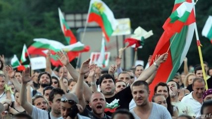 Тысячи болгар вновь вышли на антиправительственный митинг в Софии