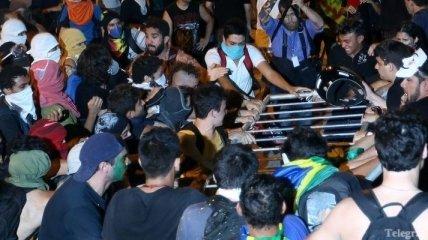 В Бразилии манифестанты блокировали подъезды к аэропорту Сан-Паулу