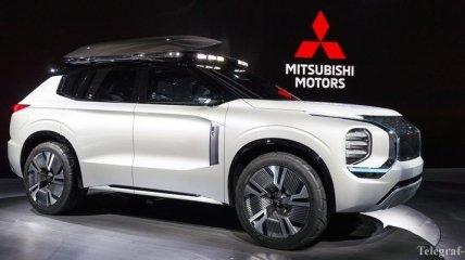 Женевский автосалон 2019: Mitsubishi представил яркий кроссовер Engelberg