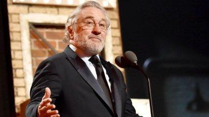 Роберт Де Ниро будет удостоен почетной награды Гильдии киноактеров