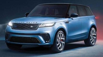 Новый внедорожник Range Rover Sport поступит в продажу в 2022 году